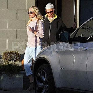 Pictures of Kate Bosworth Eating Out With Friend in LA