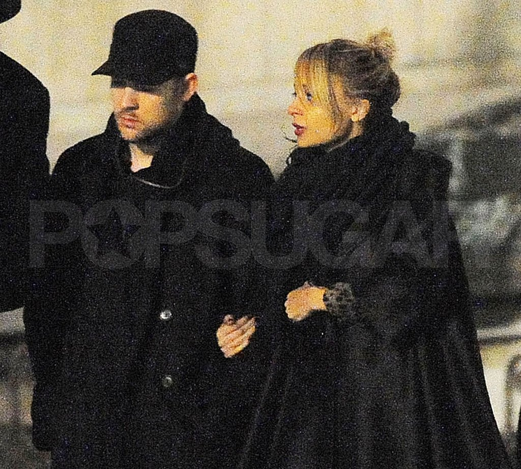 Nicole Richie and Joel Madden Shop Paris Ahead of Her Big Gilt Sale!