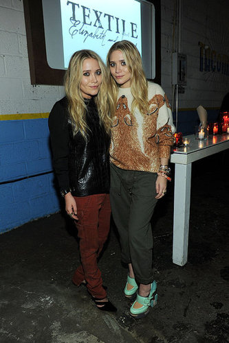 Pictures of Mary-Kate Olsen, Ashley Olsen, Elizabeth Olsen at Textile Elizabeth James Launch in NYC