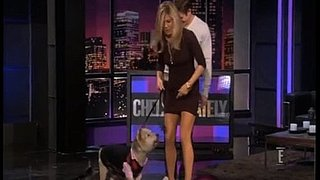 Video of Jennifer Aniston and Norman on Chelsea Lately