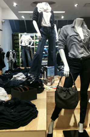 We got a sneak peek of Gap's new 1969 store in NYC.