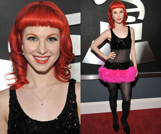 Hayley Williams Grammys 2011