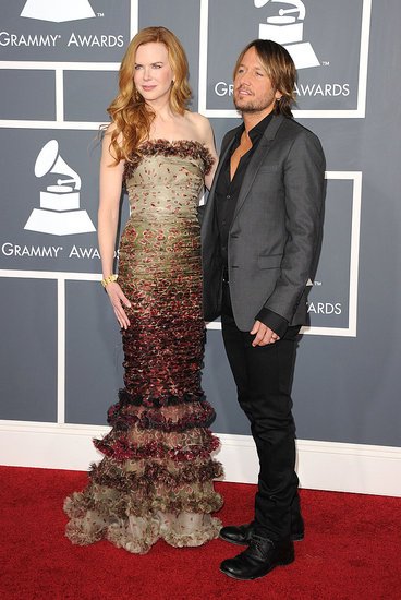 Nicole Kidman Just Goes to the Grammys With Her Husband Keith Urban