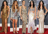 Pictures of Ladies on the 2011 Grammys Red Carpet