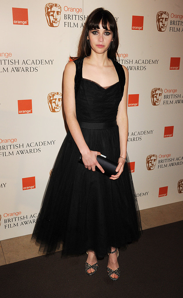 Pictures of Women on BAFTAs Red Carpet