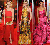 Photos of Celebrities in Bright Coloured Dresses at the 2011 BAFTA Awards