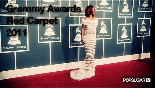 Video of 2011 Grammy Awards Red Carpet
