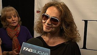 Interview With DVF at Fall 2011 New York Fashion Week