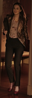 Leighton Meester as Blair Waldorf Style in Gossip Girl 2011-02-14 17:30:50