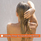Relieve Congestion and Prevent Bacne and Dandruff in the Shower