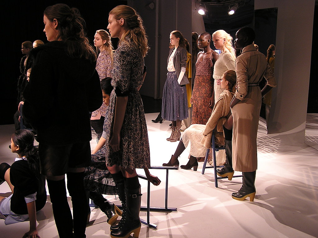 Cozy Knits and Muted Florals Populate John Patrick's Fall 2011 Organic Collection