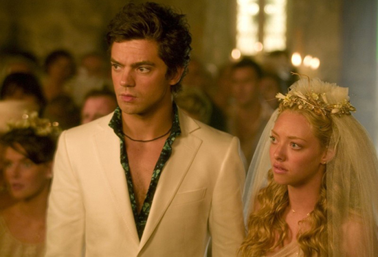 Dominic Cooper and Amanda Seyfried, Mamma Mia!