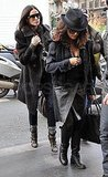 Birthday Boy Ashton Gets to Shop Paris With Demi and Salma