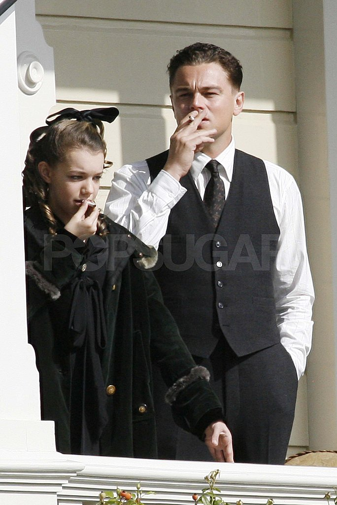 Leonardo DiCaprio Suits Up to Start Filming J. Edgar