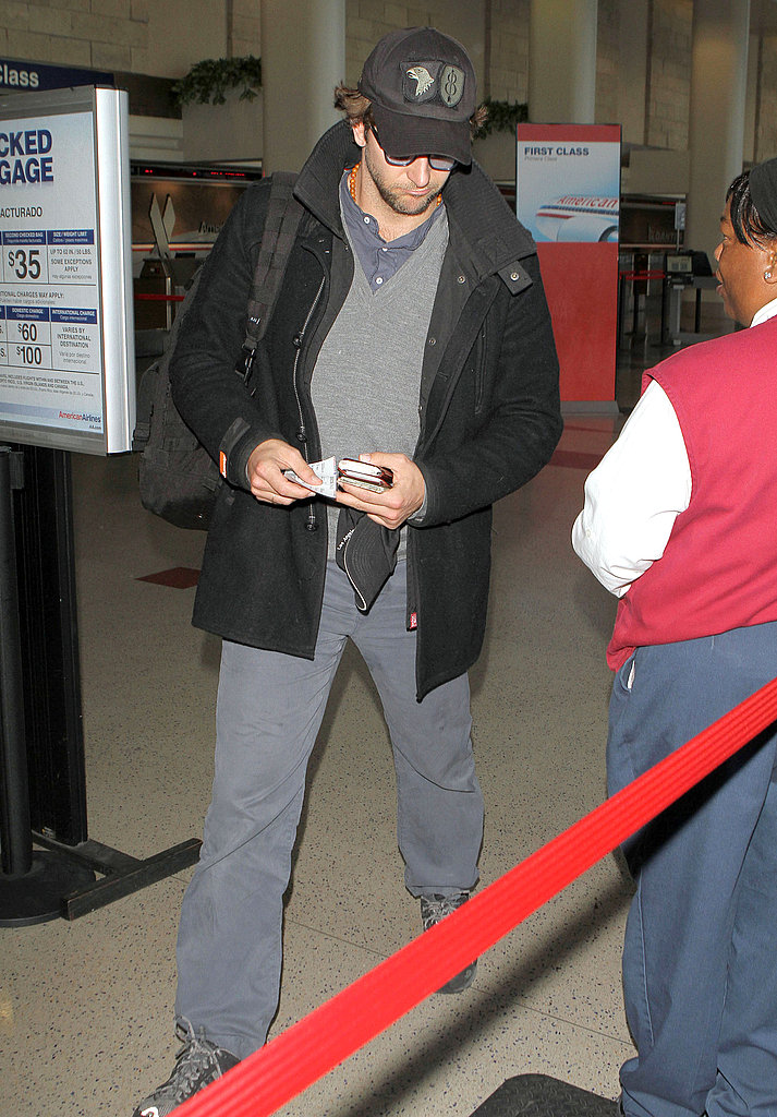 Bradley Cooper Takes Flight With His A-Team Backpack