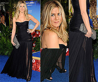 Jennifer Aniston Wears Sexy Dolce and Gabbana Gown to Just Go With It Movie Premiere
