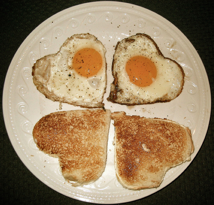 Make an Egg-cellent Toast to Amore