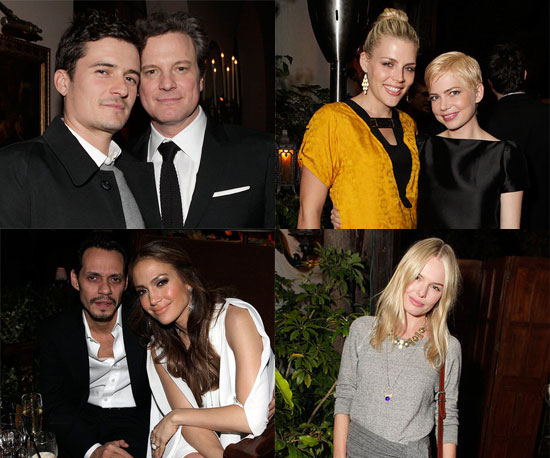 Pictures of Kate Bosworth, Orlando Bloom, Michelle Williams, Colin Firth and More at a King's Speech Party