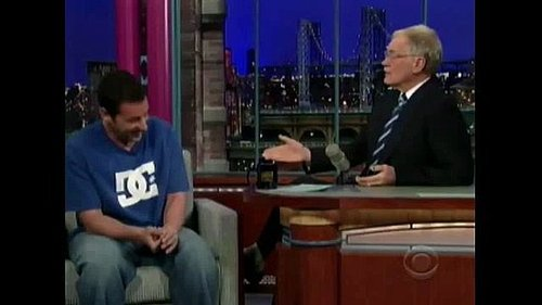 Adam Sandler on David Letterman