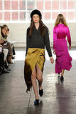 Bright Silks and Velvet Loafers Take Over Jenni Kayne's Fall 2011 Runway