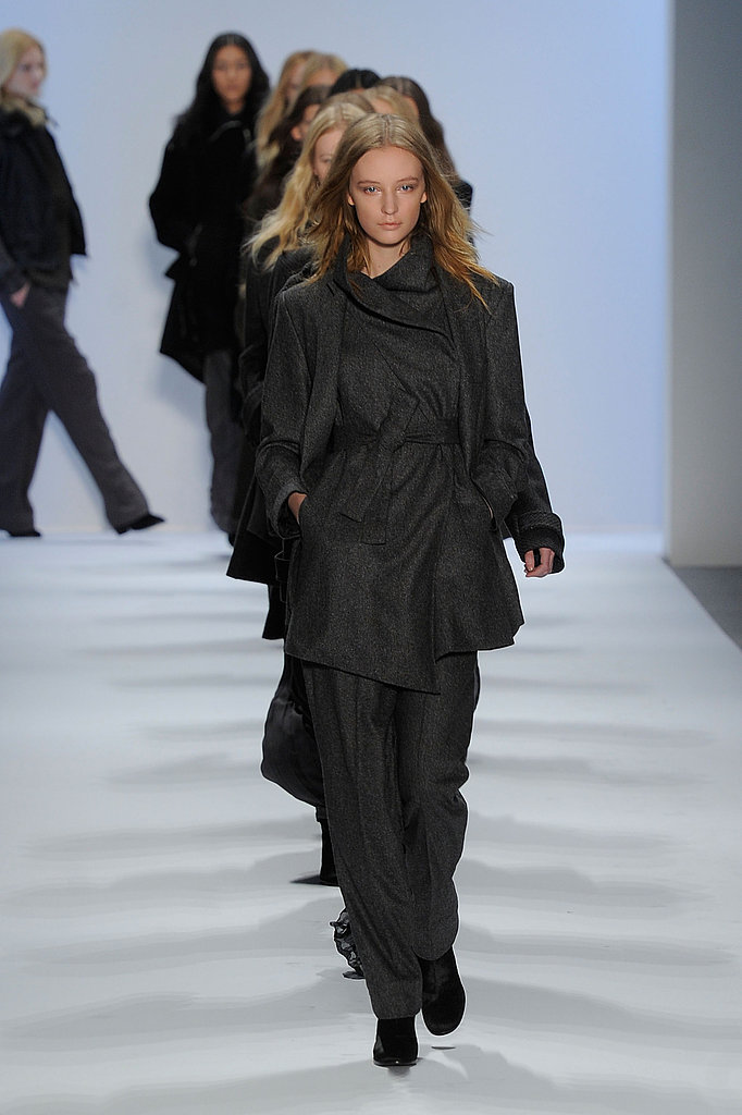 Richard Chai Loves Layered Coats and Pleated Maxi Skirts for Fall 2011