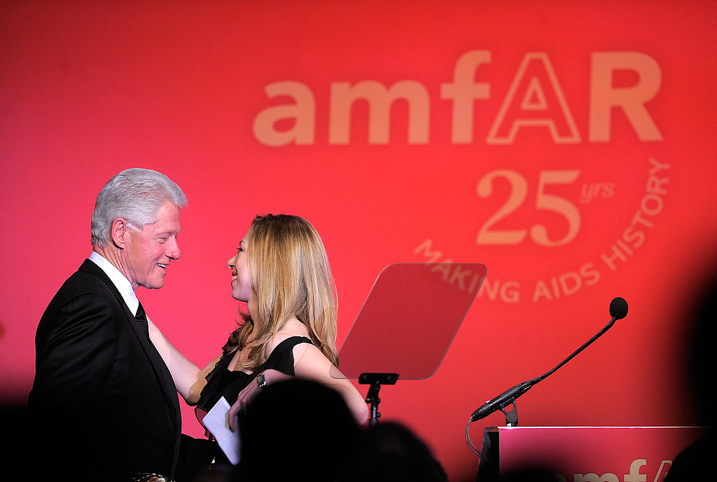 President Clinton Gets Toasted at an AmfAR Bash With Blake, Anna, Michael, and More