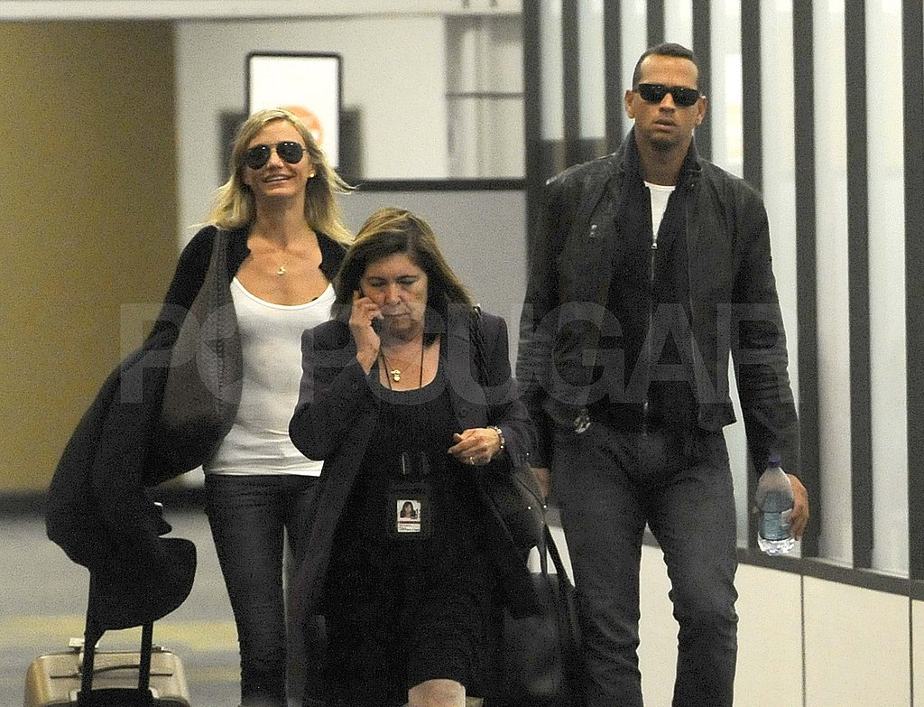 Cameron Diaz and Alex Rodriguez Go House Hunting in Miami