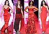 New York Fashion Week Heart Truth&#039;s Red Dress Collection Runway