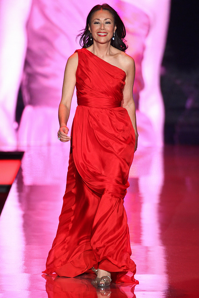 Celebrities Take the Runway in Red For NYFW's Heart Truth's Collection