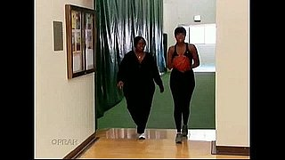 Video of Jennifer Hudson Playing Basketball on Oprah