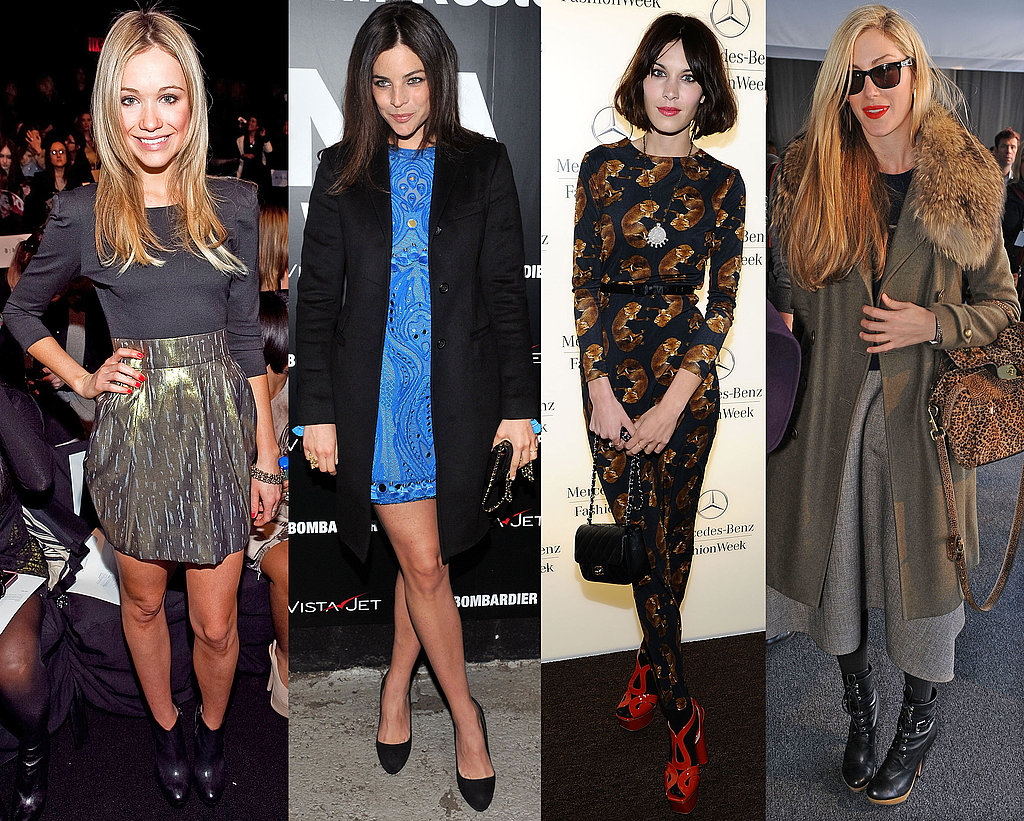 Celebrity Style at New York Fashion Week 2011-02-11 14:41:05