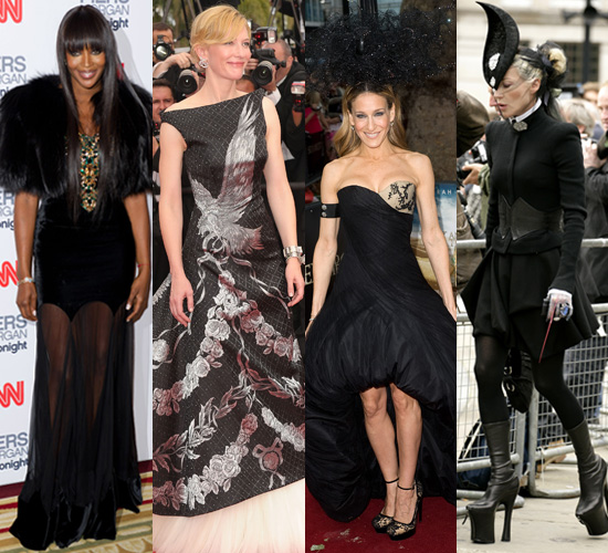 Photos of Celebrities Wearing Alexander McQueen