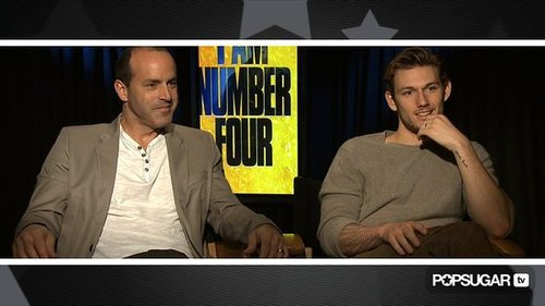 Video of Alex Pettyfer and DJ Caruso Talking About I Am Number Four 2011-02-16 14:20:00