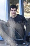 Taylor Lautner Sculpts His Twilight Muscles and Avoids On-Set Injuries