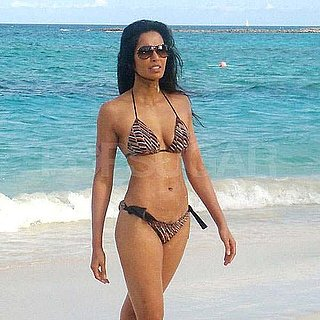 Pictures of Padma Lakshmi in Bikini in Bahamas
