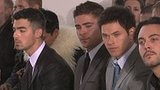 Video of Zac Efron, Joe Jonas, and Kellan Lutz at New York Fashion Week
