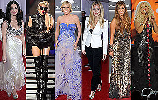 Pictures of Worst Dressed Girls at the 2011 Grammy Awards