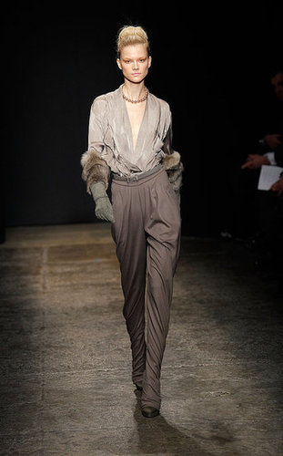 Fall 2011 New York Fashion Week: Donna Karan