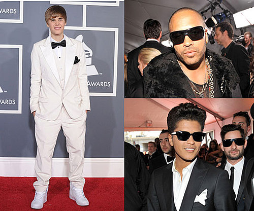 Men at 2011 Grammy Awards