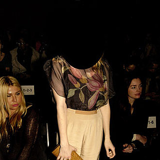 Guess the Front Row Celebrity at Fashion Week!