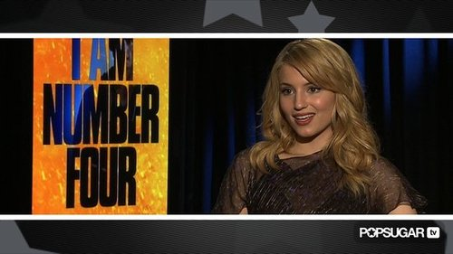 Video Interview of Dianna Agron Promoting I Am Number Four and Talking About Alex Pettyfer and Glee