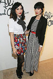 Vanessa Hudgens and The Veronicas at Fashion Week
