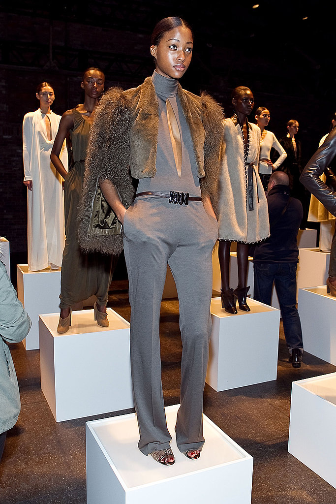 Marios Schwab Delivers a Full-Blown '70s Inspired Collection For Halston Fall 2011