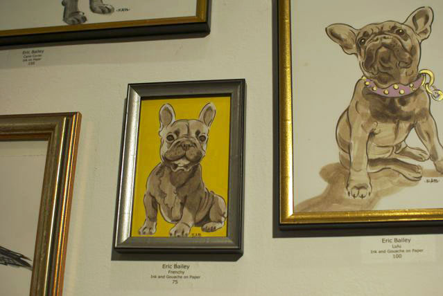 Another adorabull French Bulldog ($75-$100).