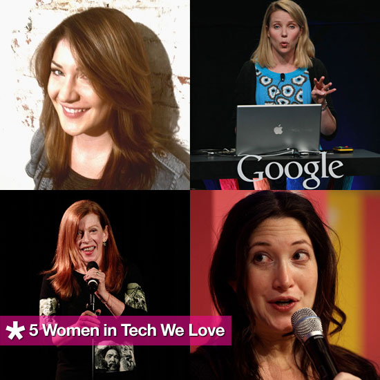 5 Women in Tech We Love (With Jobs We're Jealous Of)