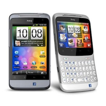 Facebook Phones From HTC