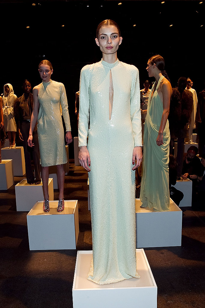 2011 Fall New York Fashion Week: Halston