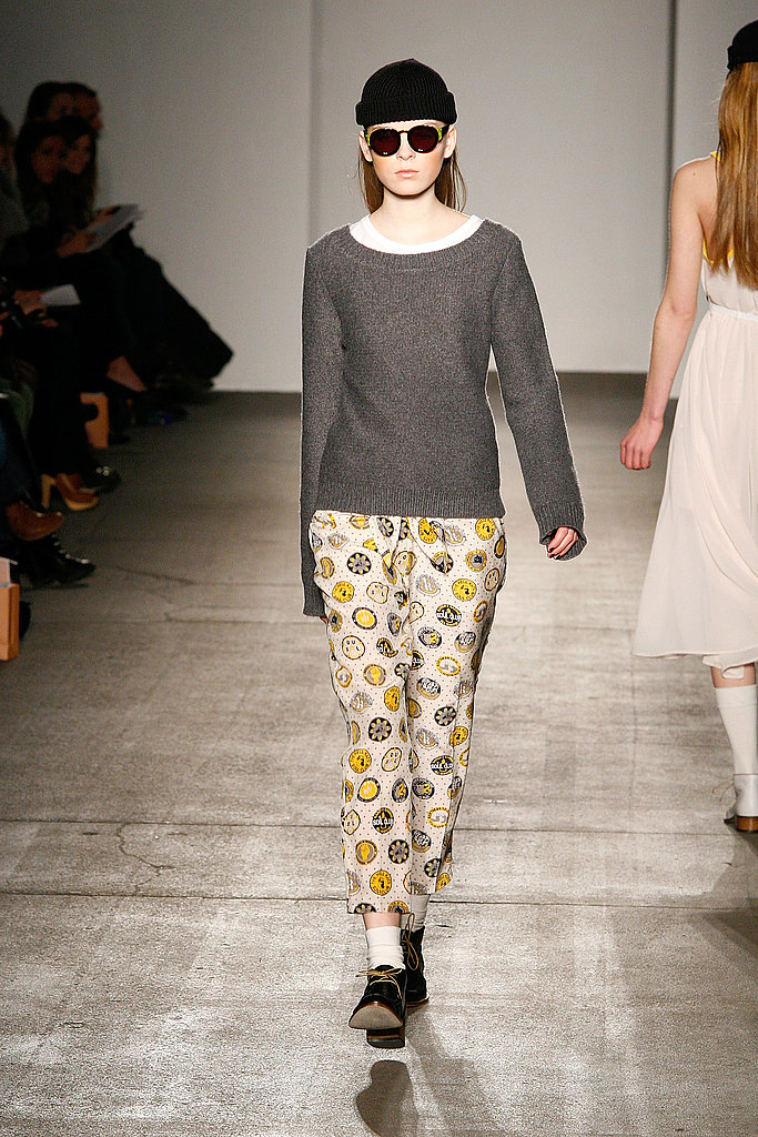 2011 Fall New York Fashion Week: Karen Walker