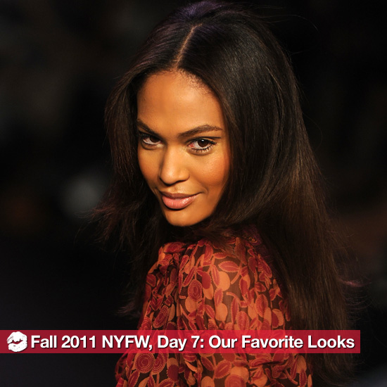The Best Beauty Looks From Fall 2011 New York Fashion Week, Day Seven 2011-02-16 19:36:48