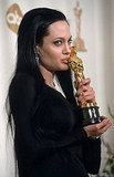 Angelina Jolie's brother wasn't the only one who got some affection from the best supporting actress winner that night in 2000.